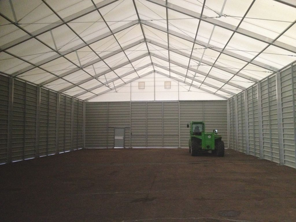 Temporary Buildings Structures : Temporary building warehousing storage